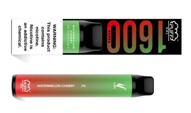 Puff Bar XXL Watermelon Cherry.