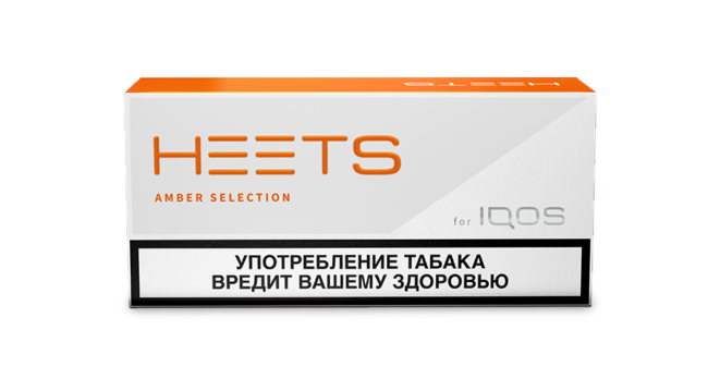 Стики айкос Amber label