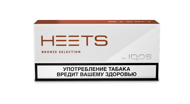 Стики айкос Heets Bronze Label