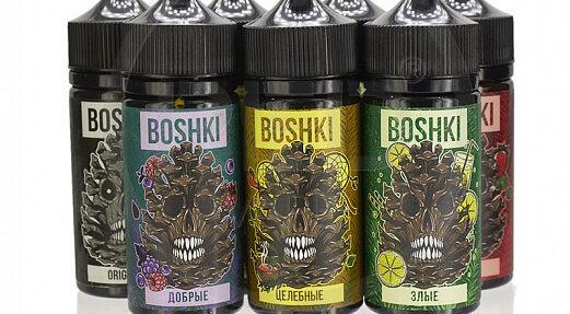 Жидкость для вейпа Boshki злые.