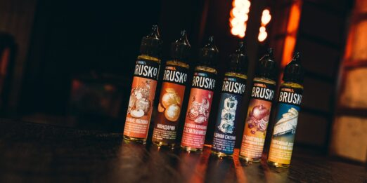 Различные вкусы Brusko salt.