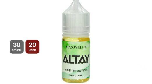 Солевая жидкость maxwells altay.