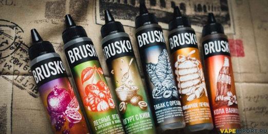 Удобная упаковка жидкости Brusko.