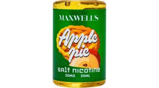 Вкусная жидкость maxwells apple pie salt.