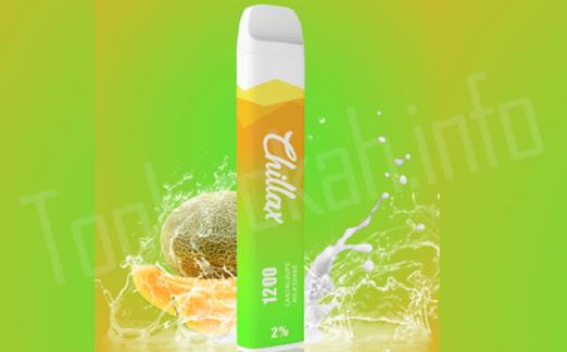 Электронная сигарета Chillax с милкшейком и дыней